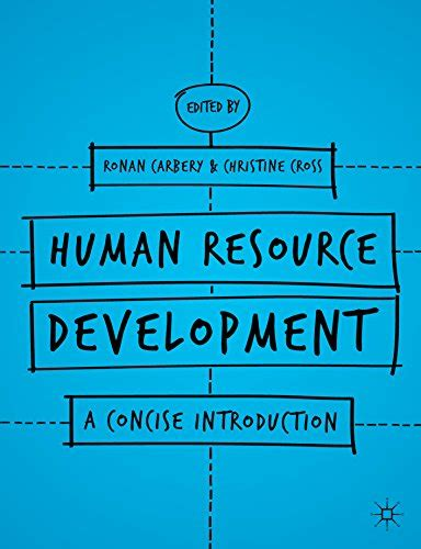 Management A Concise Introduction Isbn 9780230285354 human resource development a concise introduction books