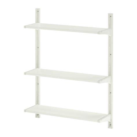 Ikea Rigga Rak Pakaian Serbaguna Yang Bisa Disesuaikan Tinggi 175cm algot rangka untuk dinding rak ikea