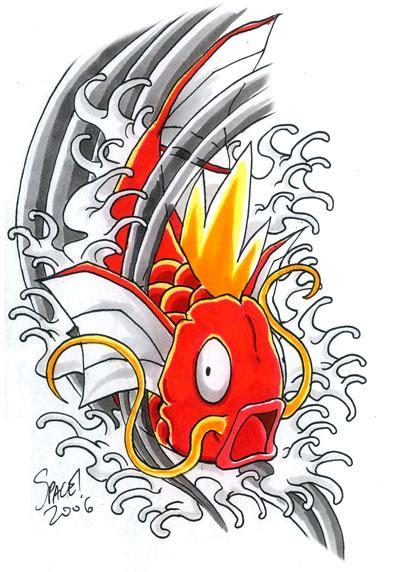 magikarp tattoo magikarp concept bomb