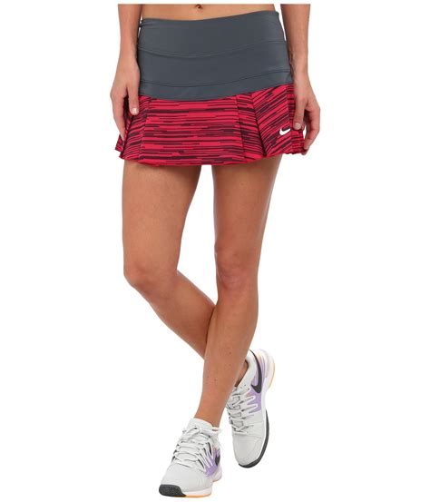 Victory Skirt nike victory printed pleated skirt in gray lyst