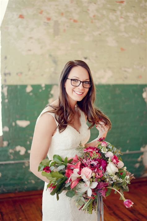 braut mit brille bride with glasses