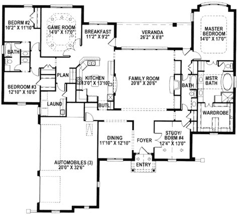 game room floor plans one level home with game room 15305hn 1st floor master