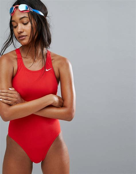 Poll The College Of Fashion For Asos Items Em Or Loathe Em by προϊόν Nike Solid Swimsuit
