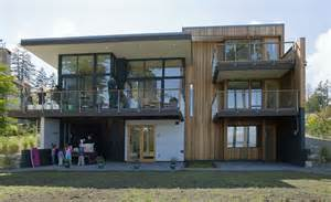 architect house plans for sale three level waterfront modern home bainbridge island