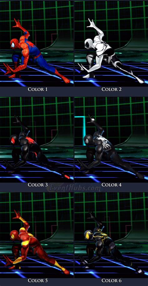 spider man ultimate marvel vs capcom 3 spider man ultimate marvel vs capcom 3 moves combos