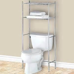 Bathroom Space Saver Chrome Chrome The Toilet Space Saver Shelf