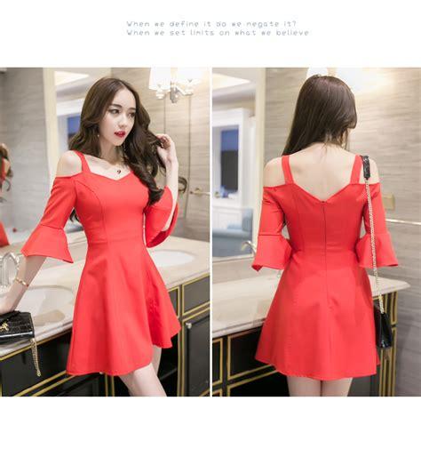Dress Midi Vb 74 jys fashion korean style lace and chiffon midi dress