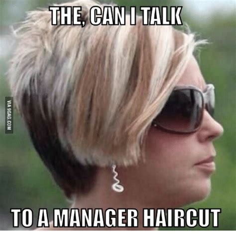 See Hairstyles On Me by The Can Talk I To A Manager Haircut Manager Haircut Meme