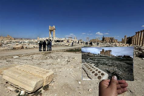 syria before and after before and after isis photos of destroyed historical