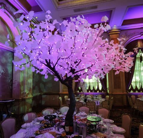 Lighted Trees Event Rentals/ Led Glowing Lighted Tree