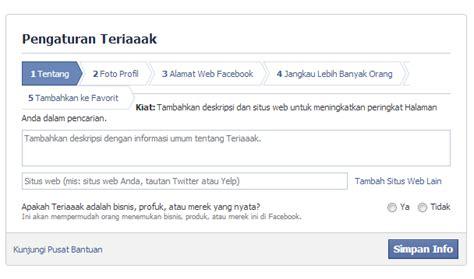 membuat fanspage twitter cara membuat fans page facebook kirito kun