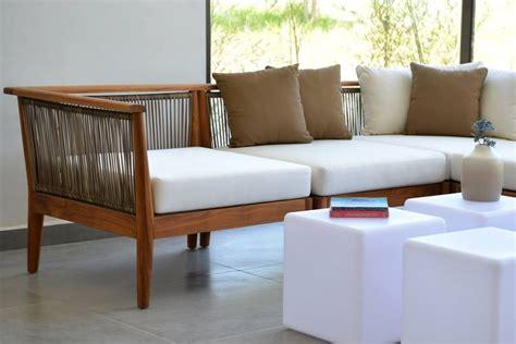 imagenes de salas minimalistas de madera muebles de jardin de madera meue