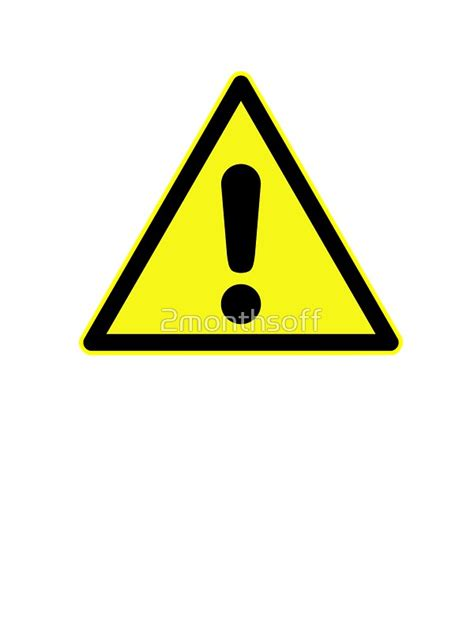Softcase Notebook 10 Yellow Sign quot warning sign exclamation in yellow triangle