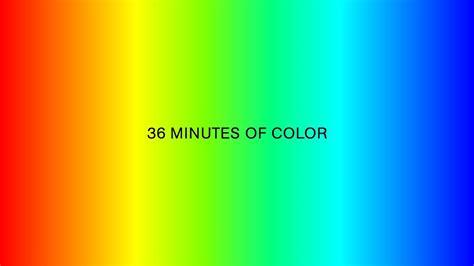 spectrum color color spectrum