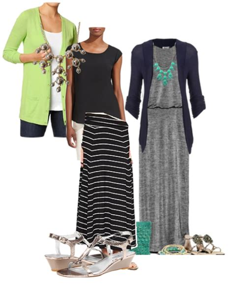 four ways to wear a maxi skirt to the office loop looks