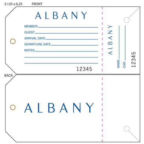 parking airline format for simple airline luggage tag template gallery template design ideas