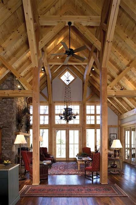 highland lake post and beam timber frame home 71 best images about i want a barn home on pinterest