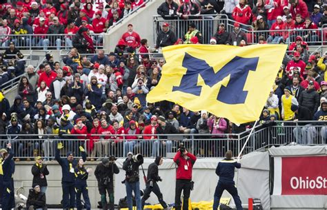 michigan fan poses with ohio state s national chionship