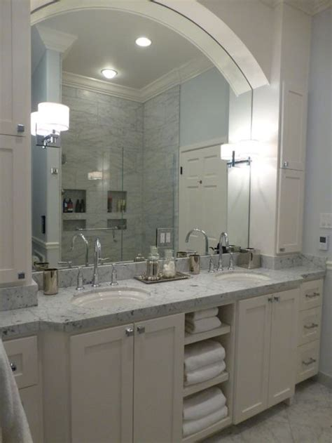 bathrooms with carrera marble carrera marble countertop houzz