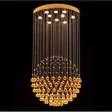 Buy Light Fixtures Aliexpress Buy Vallkin Modern Chandeliers Luxury Clear Hanging L Lighting