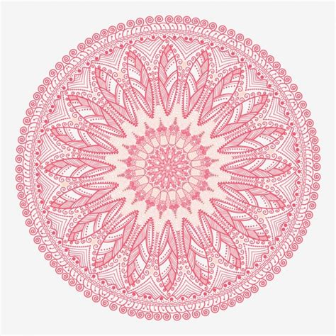 imagenes de mandalas rosas mandala rosa descargar vectores gratis