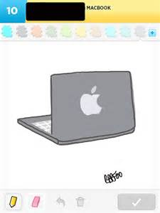 how to draw macbook my best of draw something