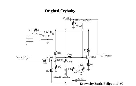 wah inductorless dunlop crybaby wah schematic dunlop get free image about wiring diagram