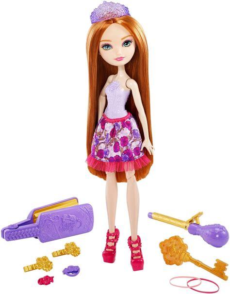 amazon com ever after high holly o hair style doll toys