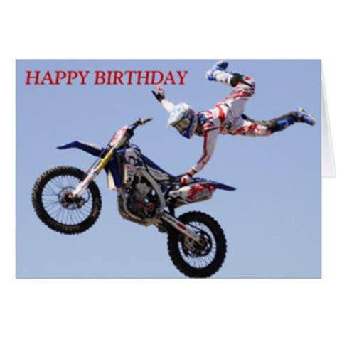 Motorcycle Birthday Cards Motorcycle Birthday Cards Photocards Invitations More