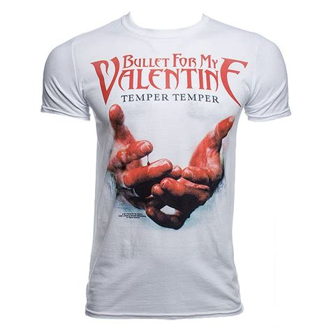 bullet for my clothing bullet for my temper temper blood t shirt