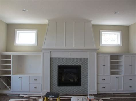 fireplace with built ins house ideas