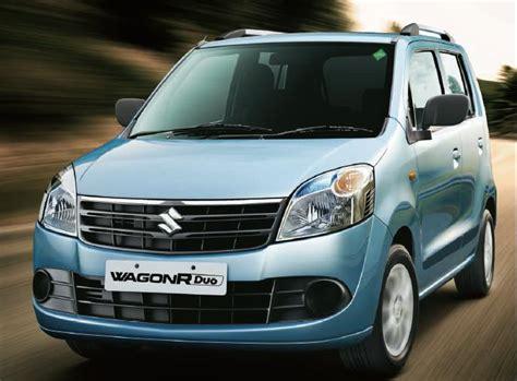 Maruti Suzuki Wagon R Models Maruti Suzuki Fires Up Dual Fuel Wagon R Duo Website