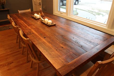 barnwood dining room tables reclaimed barnwood dining table the hermitage pinterest