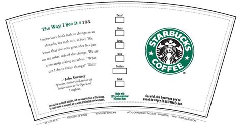 starbucks template starbucks wrapper playscale printables