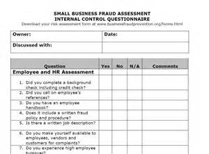 audit risk assessment questionnaire template auditor forms vitalics