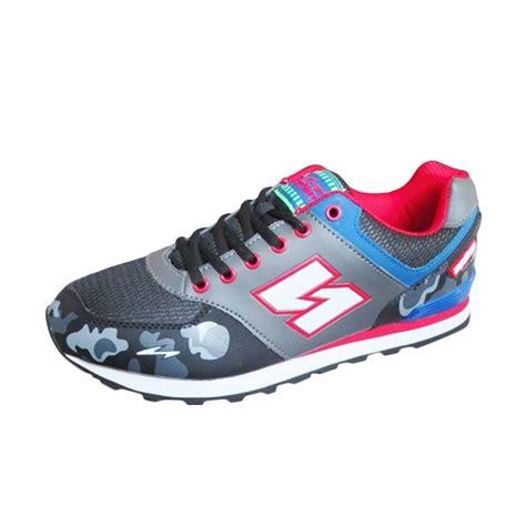 Sepatu Lari Spike Jual Spike Sport Shoes Sepatu Lari Pria Black Harga Kualitas Terjamin Blibli