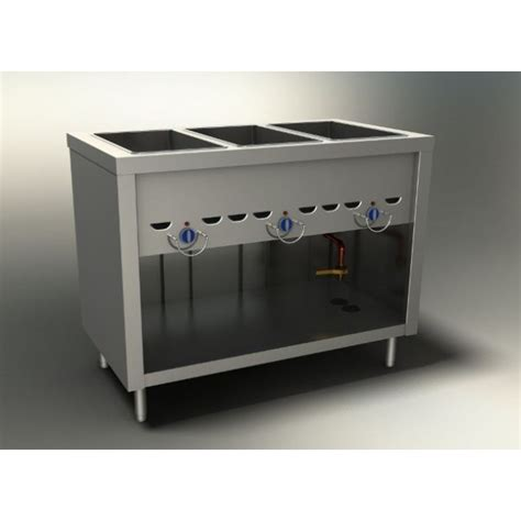 duke e 3 cbss 3 well electric steamtable sealed 46