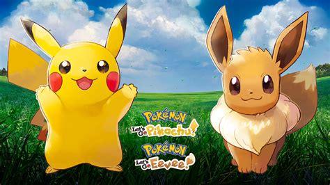 pokemon lets  pikachu eevee  wallpapers cat