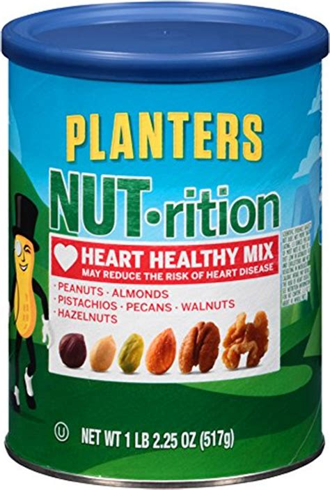 planters healthy mix 5 planters nut rition healthy mix 18 25 ounces