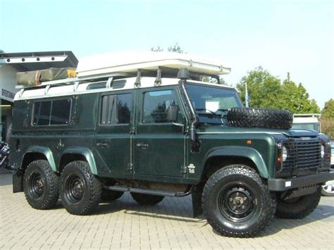 land rover defender 6x6 land rover land