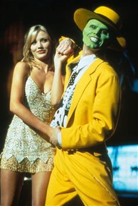 The Mask On Pinterest Cameron Diaz Masks And Jim Carrey
