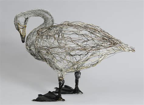 And Bird Sculptures by Gorgeous Wire Bird Sculptures By Celia Smith Cube Breaker