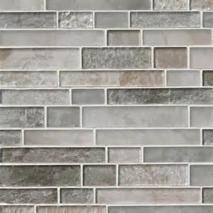Savoy interlocking pattern 8mm crystallized glass mosaic tile