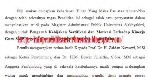 tesis s2 adalah info pendidikan terbaru contoh kata pengantar penulisan tesis