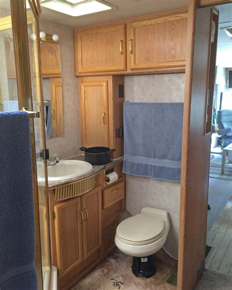 What Happened Next Rv Renovation The Bathroom Edition Rv Bathroom Storage