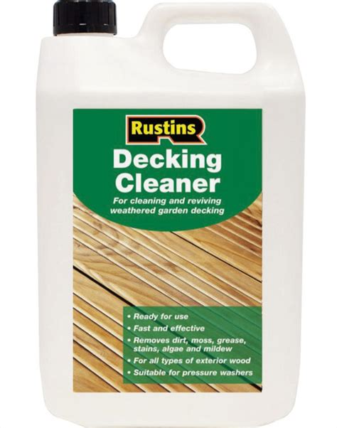homemade deck cleaner   eco paint