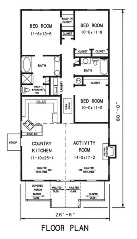 quaint house plans quaint cottage 7730 3 bedrooms and 2 5 baths the house