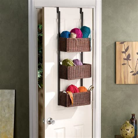 over the door bathroom storage amazon com southern enterprises over the door 3 tier