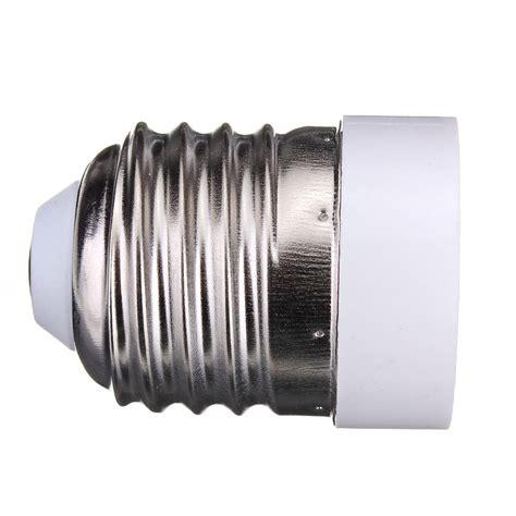 led light base for e26 to e12 base led light l bulb adapter