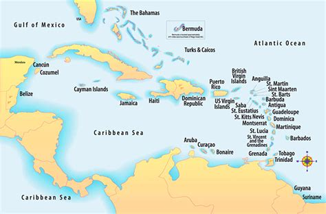 map of us and caribbean islands tales of a rambling rover caribbean cruise